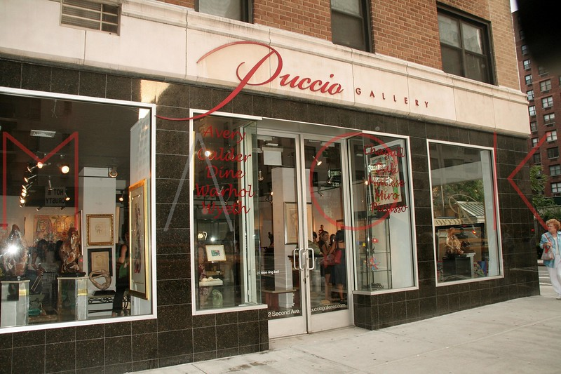 New York, NY - July 24:  Exterior of Puccio Galleries on Tuesday, July 24, 2007 in New York, NY.  (Photo by Steve Mack/S.D. Mack Pictures)