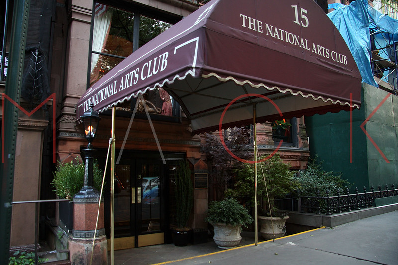 New York, NY - October 04:  Exterior of The National Arts Club on Saturday, October 4, 2008 in New York, NY.  (Photo by Steve Mack/S.D. Mack Pictures)