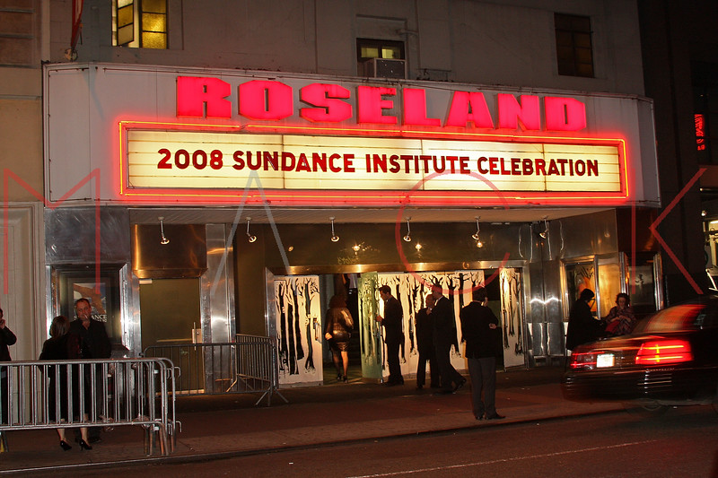 New York, NY - October 27:  Exterior of Roseland Ballroom on Monday, October 27, 2008 in New York, NY.  (Photo by Steve Mack/S.D. Mack Pictures)