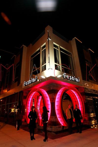 New York, NY - February 17:  Exterior of Fushimi Restaurant Williamsburg on Friday, February 17, 2012 in New York, NY.  (Photo by Steve Mack/S.D. Mack Pictures)