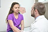 WVU Medicine Doctors interact with patients for marketing photo shoot January 10, 2020. (WVU Photo/Greg Ellis)