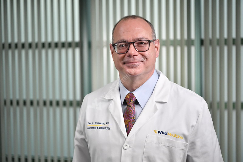 WVU Medicine Doctors interact with patients for marketing photo shoot January 9, 2020. (WVU Photo/Greg Ellis)