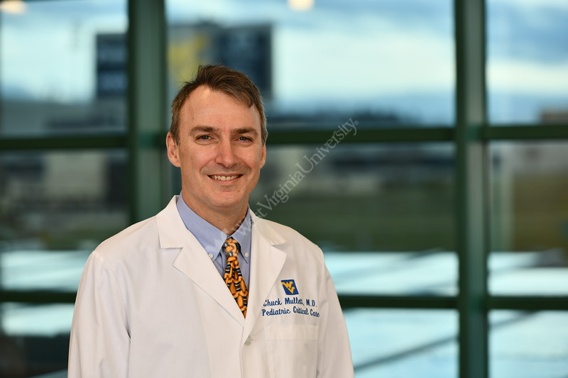 Dr. MullettWVUMedicine poses for a portrait at the POC January 24, 2020. (WVU Photo/Greg Ellis)