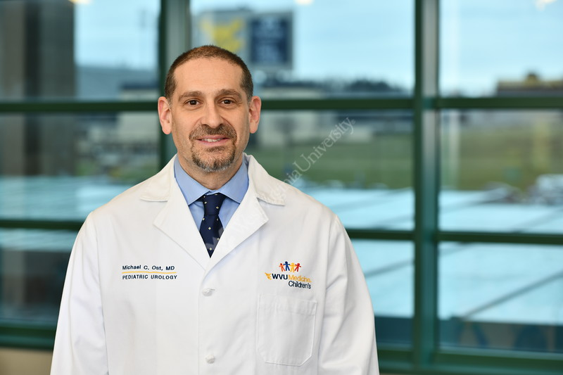 Dr. Ost WVU Medicine Children's Hospital poses for a portrait at the POC January 29; 2020. (WVU Photo/Greg Ellis)