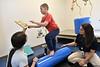 Patients and staff interact at the WVU Medicine Neurodevelopment Center Bakers Ridge Road Morgantown WV March 4, 2020. (WVU Photo/Greg Ellis)