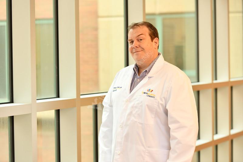 WVU Medicine Doctors, nurses and patients interacting for marketing images March 6, 2020. (WVU Photo/Greg Ellis)