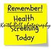 Remember Health Screening Today