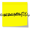 Scalability Sticky Note