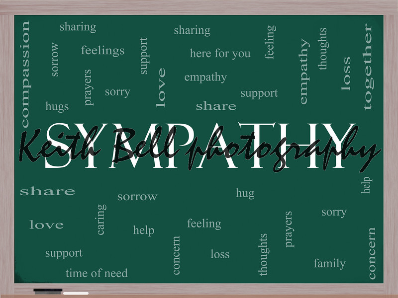 Sympathy Word Cloud Concept on a Blackboard with great terms such as sorrow, feelings, loss, support, prayers, thoughts and more.