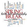 Spring Break Word Cloud Concept with great terms such as girls, wild, college, drunk, party and more.