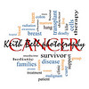 Cancer Word Cloud Concept with great terms such as disease, chemo, survivor, patient, doctor and more.