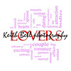 Lovers Word Cloud Concept in pink and red letters with great terms such as smooch, sensual, chemistry, sex, lust and more.