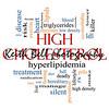 High Cholesterol Word Cloud Concept