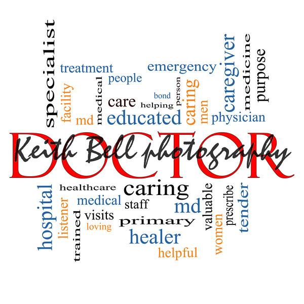 Doctor Word Cloud Concept