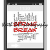 Spring Break Word Cloud Concept of Touchscreen Phone with great terms such as party, girls, drink, wild, college and more.