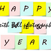 Happy New Year Sticky Notes