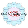 Core Values Circular Word Concept