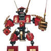 Lego Ninjago building toy robot with minifigures