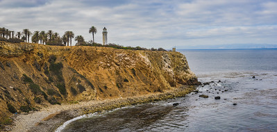 California Coast Lighthouse Panorama