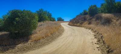 Winding Dirt Wilderness Road