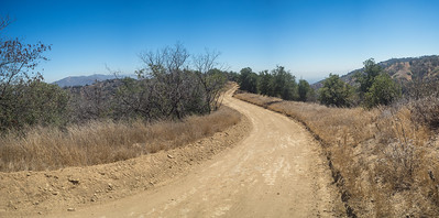 Hilltop California Dirt Road