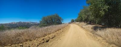Ridge Top California Road