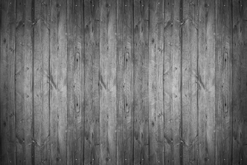 Black and white wood texture background