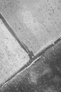 Diagonal Cement Block Lines