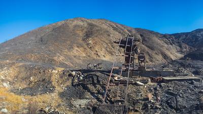 Mining Gear in Mountains