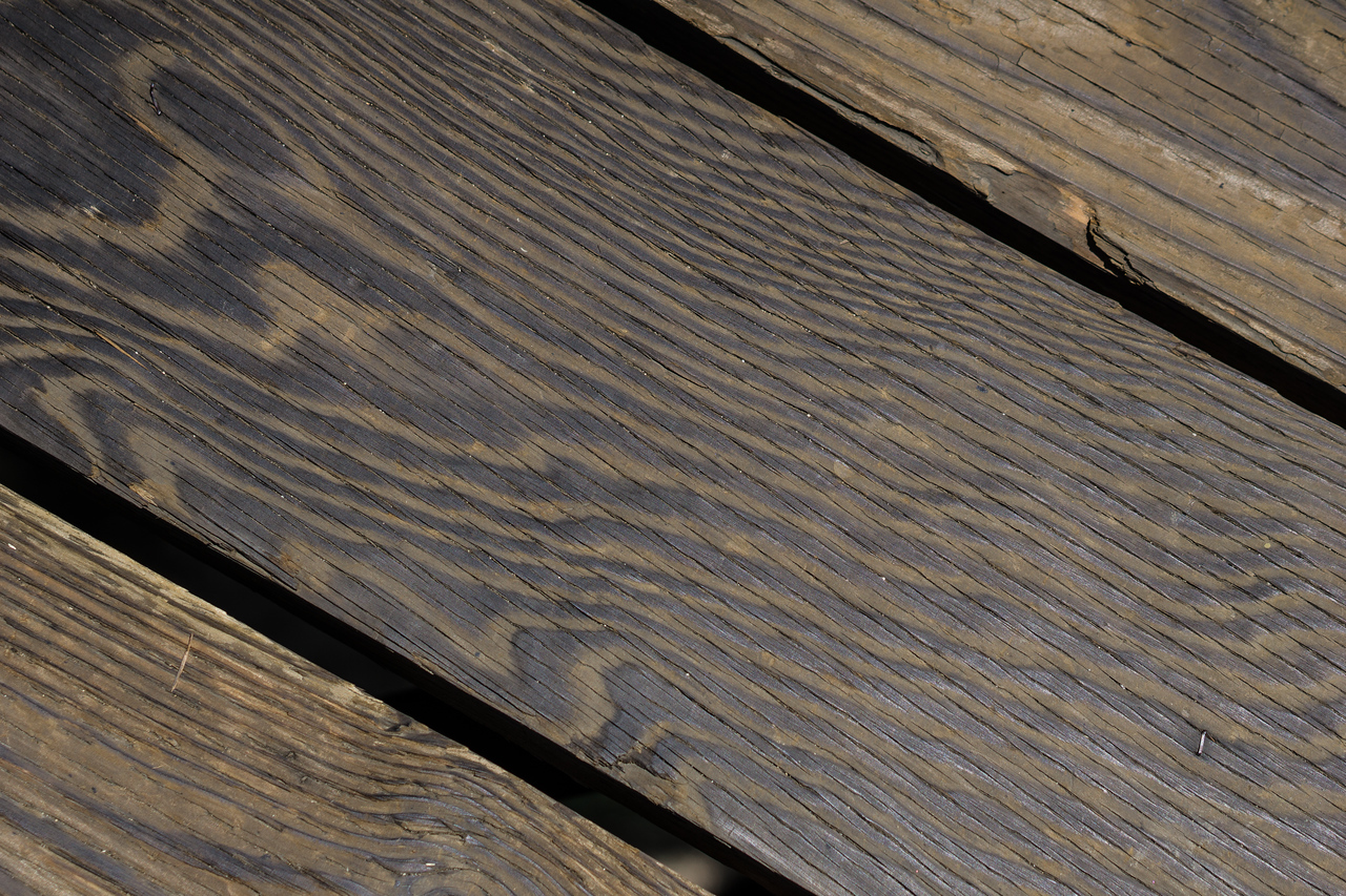 Dark Design of Wood Grain