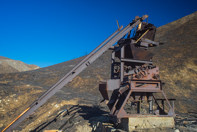 Rusting Remains of Gold Mine