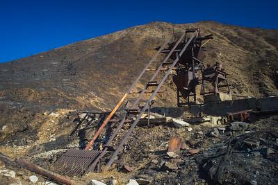 Tracks of Mining Equipment