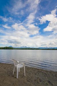 Calm Alaska Lake Shore