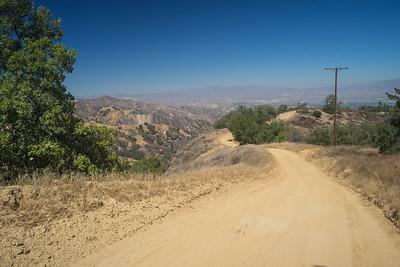 Winding Dirt Mountain Road