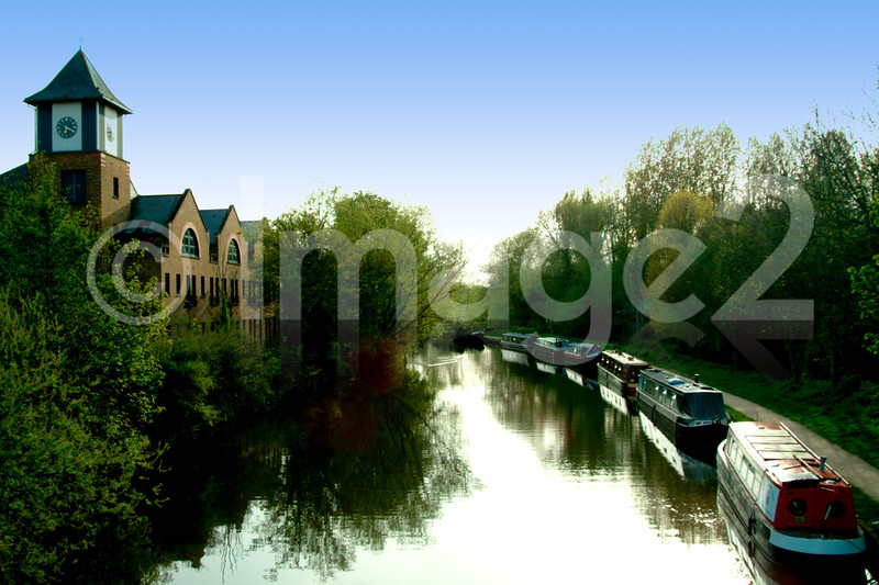 Rickmansworth Canal + Canal Locks