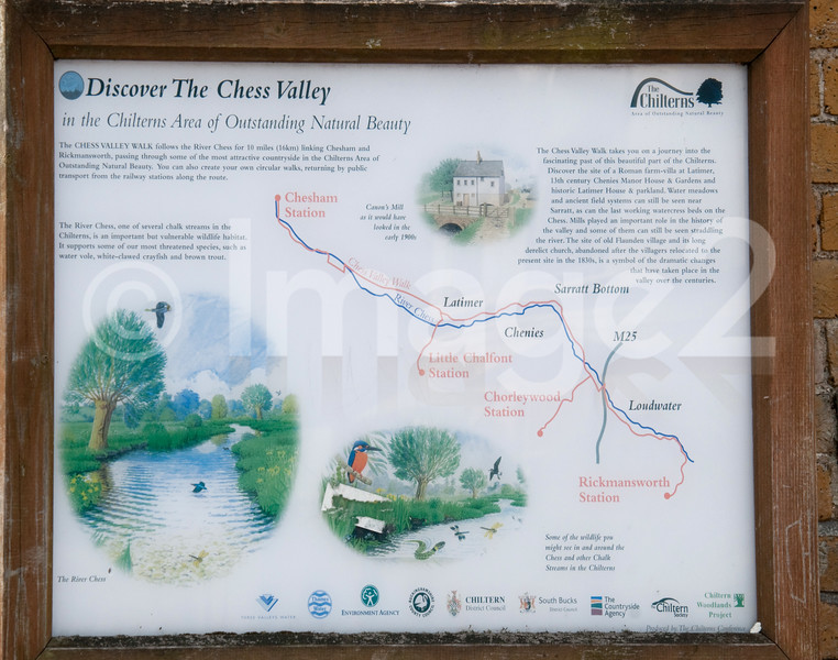 Rickmansworth Chess valley Sign