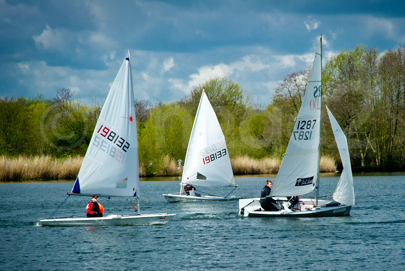 Rickmansworth Aquadrome sailing