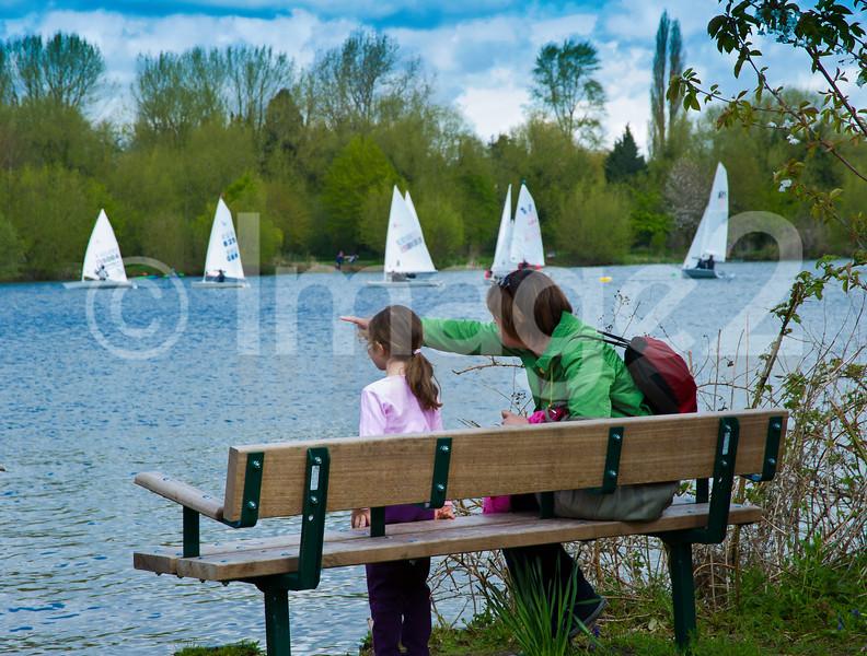 Rickmansworth Aquadrome sailing