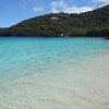 moving video of tropical beach, little hawksnest, st john