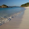 0070 Slow motion beach shoreline at trunk bay, St John, United States Virgin Islands