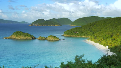V0001 Trunk Bay , St John, United States Virgin Islands