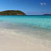 slow motion tropical beach, Little Hawksnest, St John
