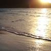 0066 Slow motion beach shoreline at trunk bay, St John, United States Virgin Islands