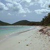 0079 tropical shoreline on flamenco beach, culebra, Puerto rico