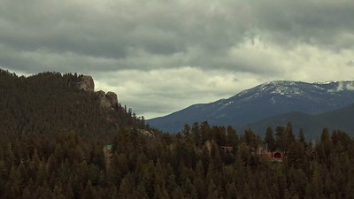 Cloudy Day in Mountains Timelapse