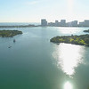 Helicopter tour Miami Biscayne Bay