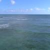 Aerial video surfers in Hawaii