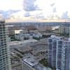 Aerial sunny isles Florida USA