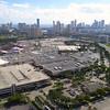 Aerial video of Aventura Mall Florida
