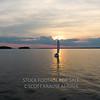 Lake Murray Sunset - Sailboat